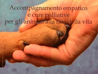 TENERSI PER ZAMPA FINO ALLA FINE Accompagnamento empatico e cure palliative per gli animali alla fin