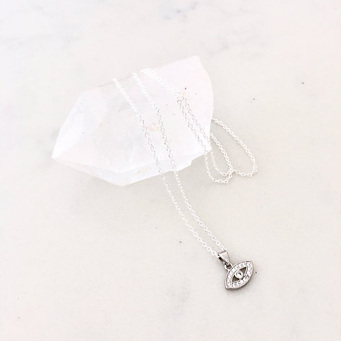 Delicate Mati Protection Necklace