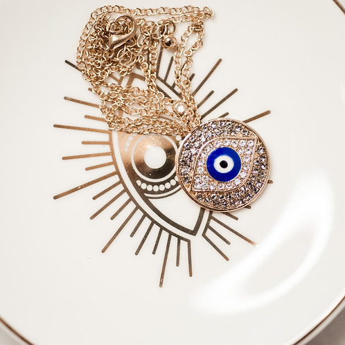 Evil Eye Protection Mati Necklace