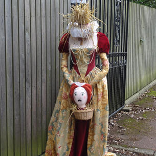 Number 28 Mary Queen of Scarecrows