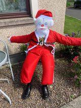 Number 11 Santa Scarecrow