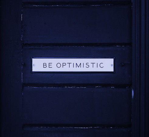Be optimistic about exams and study.
