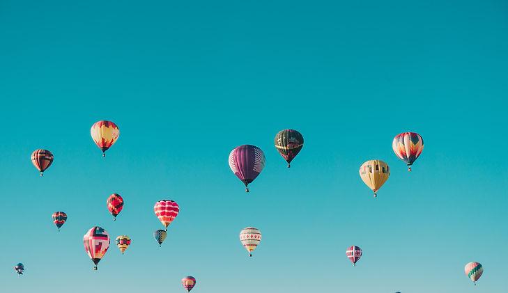 rising balloons methaphor