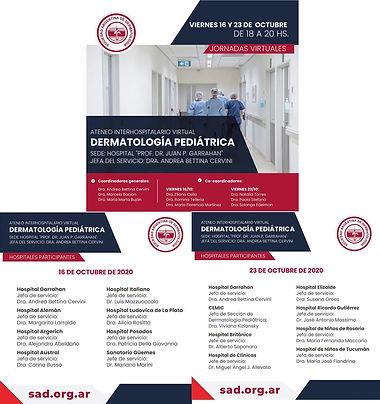 """ATENEO INTERHOSPITALARIO VIRTUAL """"DERMATOLOGÍA PEDIÁTRICA"""""""