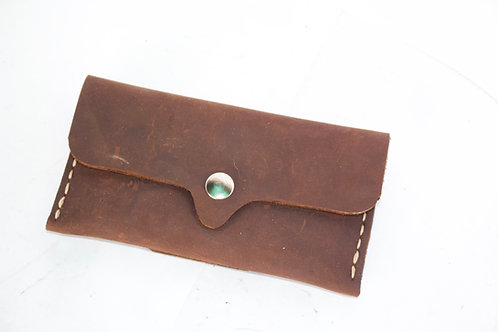 Crazy horse belt wallet