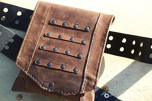 Belt Bag Distressed Leather