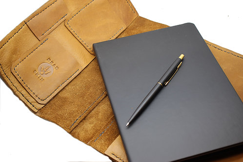 A5 Leather notepad cover