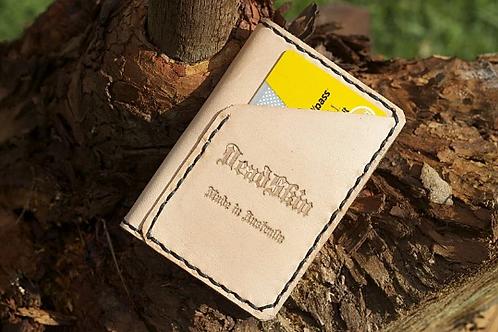 Natural kangaroo mini wallet