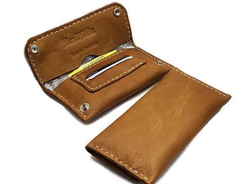 Tan Señora Slimline tobacco pouch