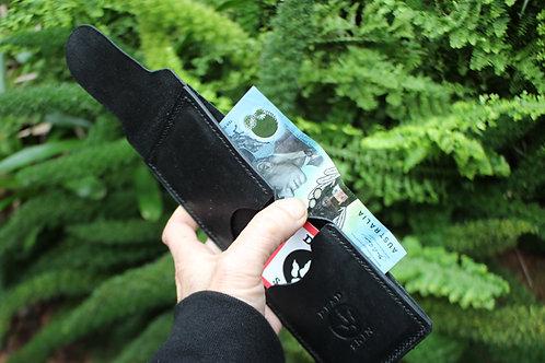 Mini Mal Twin- Kangaroo leather wallet