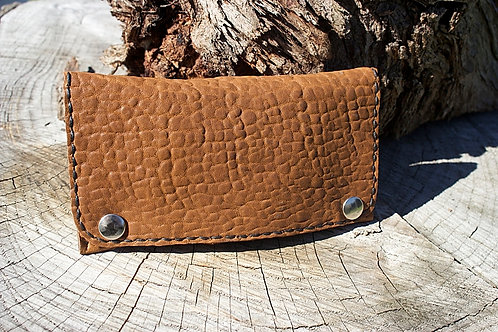 Sheep skin tobacco pouch