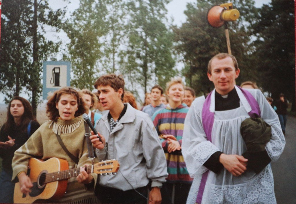 4. Pielgrzymka do Zamartego. 1988