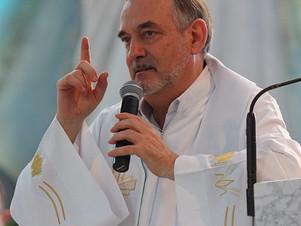 Ojciec Antonello Cadeddu odprawi Mszę Świętą w Nowej Cerkwi k. Chojnic