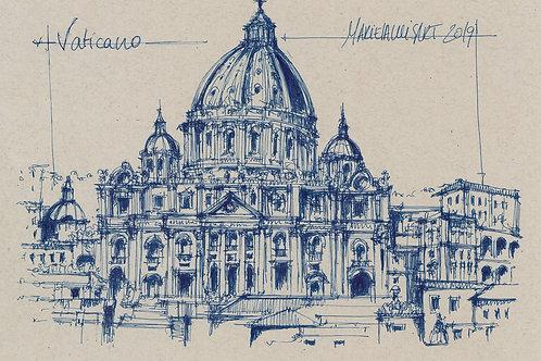 Vaticano azul