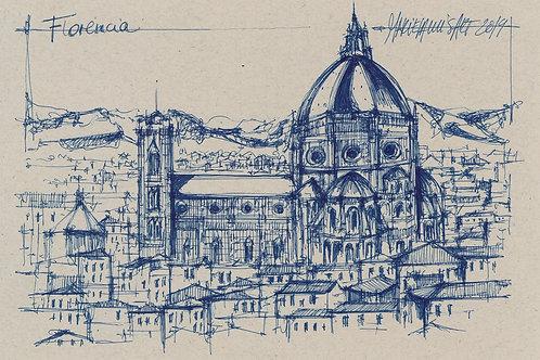 Florencia azul