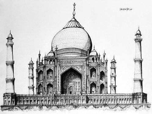 Taj Mahal Blanco