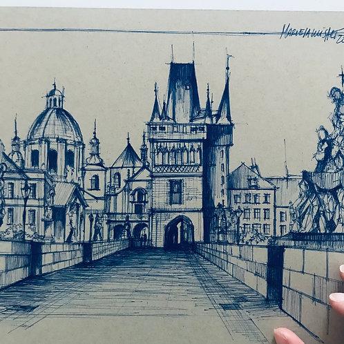 Praga azul