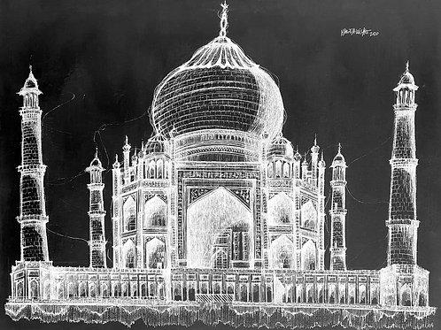 Pack Taj Mahal (Blanco y negro)