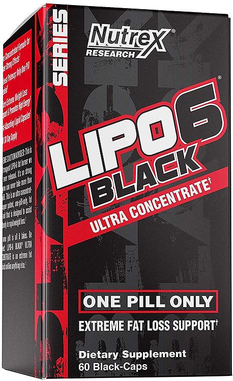 Nutrix Lipo 6 Black