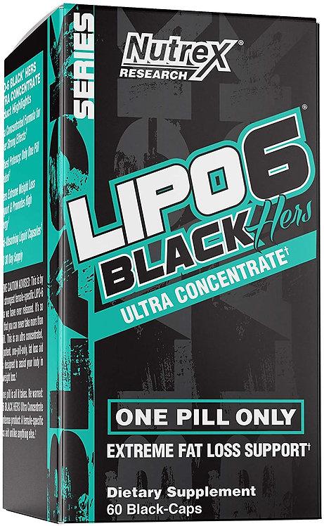 Nutrex Lipo 6 Black Hers (for women)