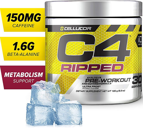 C4 Ripped Pre-workout Ultra Frost