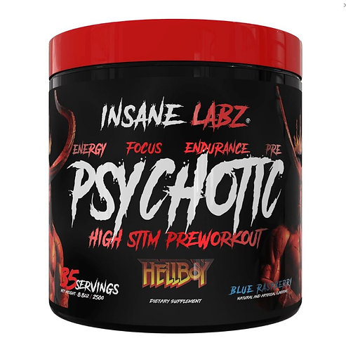 Insane Labz Psychotic HellBoy Pre-workout (Blue Raspberry)