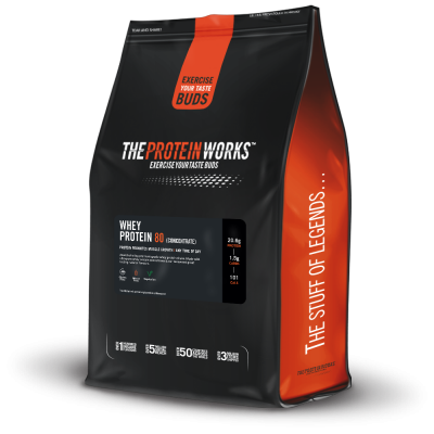 The ProteinWorks Whey Protein Concentrate