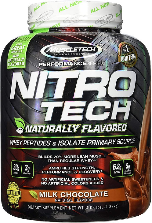 MuscleTech Naturally Flavored Milk chocolate Whey protein