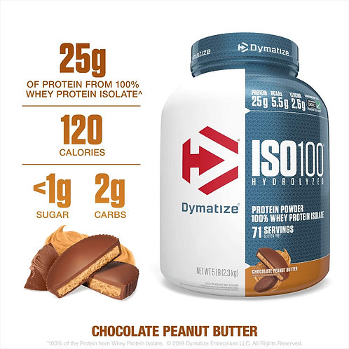 Dymatize ISO100 Chocolate Peanut butter Protein Powder