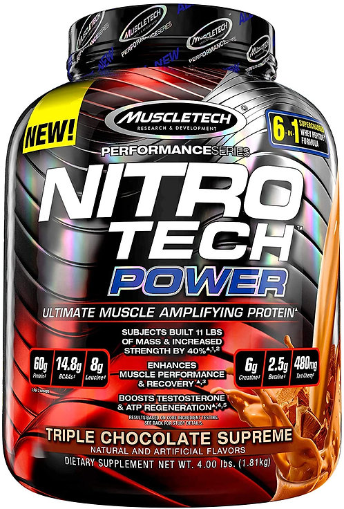 MuscleTech Power Triple Chocolate Whey protein