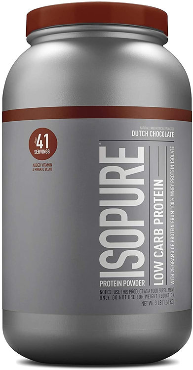 ISOPURE Dutch Chocolate whey protein