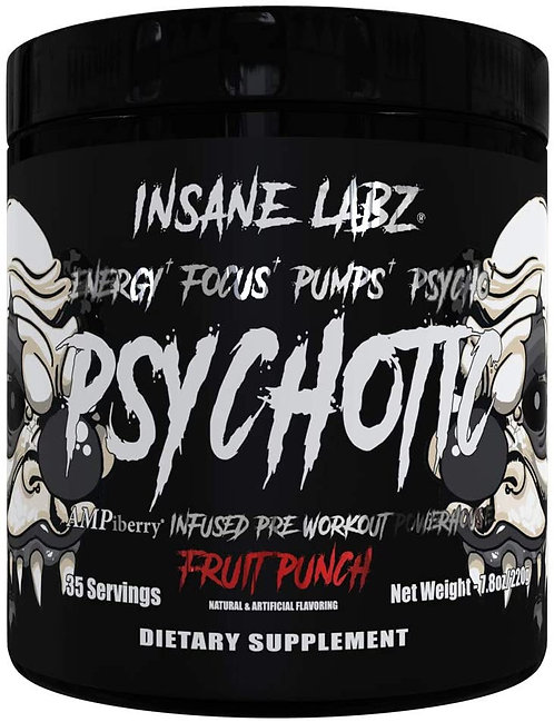 Insane Labz Psychotic Pre-workout Fruit Punch