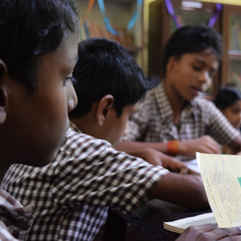 Reading space in Mannuthy Kerala
