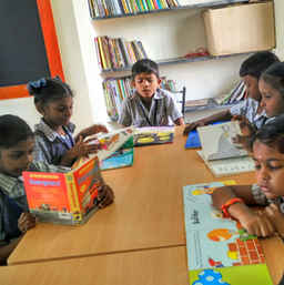 Reading Space in Thondiarpet, Chennai