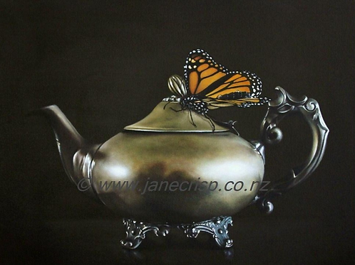 Teapot and Monarch  SOLD