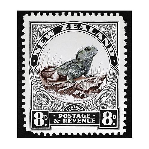 New Zealand Tuatara Stamp