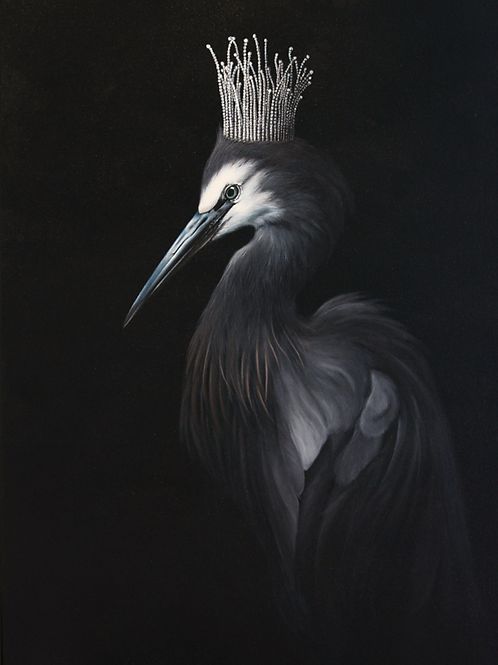 The Heron Princess  SOLD