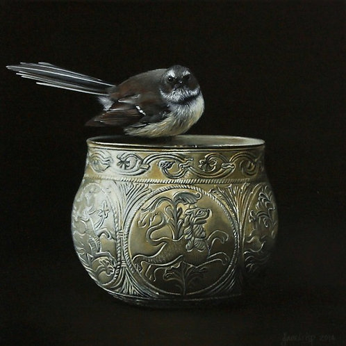 The Begging Bowl - 300 x 300mm  SOLD