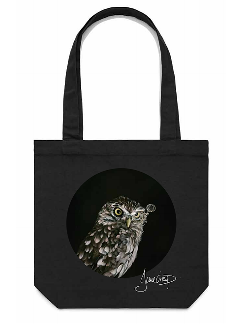 Captain Hooter Tote Bag