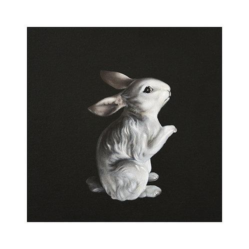 Vintage Bunny Figurine
