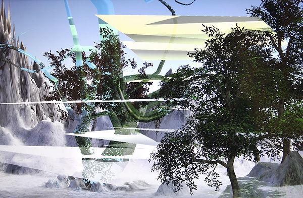 virtual reality forest glitch.JPG