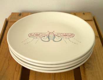 Screenprinted Plates