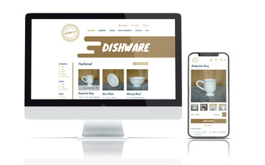 Interactive Ecommerce Web Design