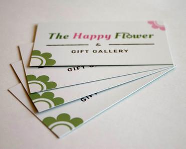 The Happy Flower Brand Identity