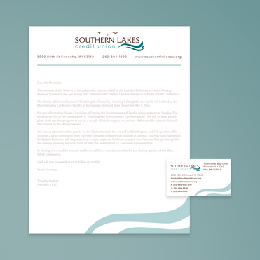 Southern Lakes Credit Union Print Collateral