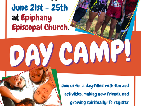 A Great Opportunity this Summer for Children at Epiphany