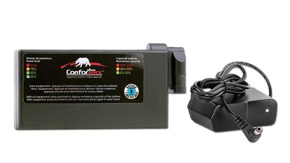 Ensemble batterie Lithium et chargeur Conforteck 03-B12L
