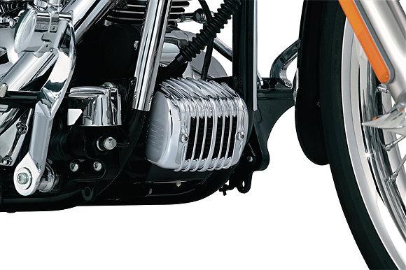 Regulator Cover for Softail, Chrome Kuryakyn 7839 Harley Softail 2001-17