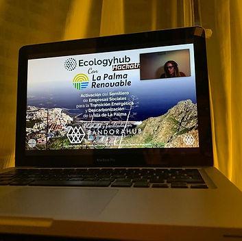 ecologyhub hackathon ordenador empieza.j