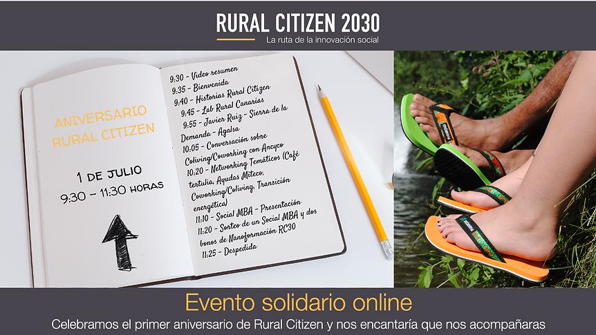Evento solidario online RC30 twitter PROGRAMA.png